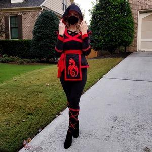 Woman Halloween Ninja Warrior Costume